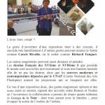 Musée des Beaux Arts | Georges de La Tour |Dessiner pour créer | 18 avril 2014